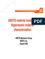 Ansys Hyperelastic Curve Fitting