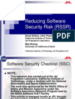 Gilliam Reducing Software Security Risk