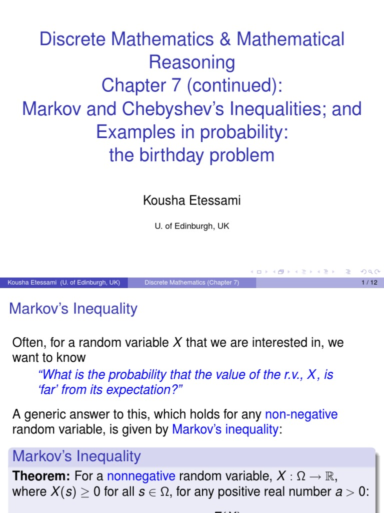 chebi-Ch7 | Probability Theory | Expected Value