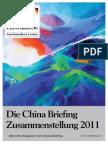 Die China Briefing Zusammenstellung 2011