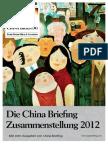 Die China Briefing Zusammenstellung 2012