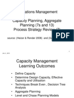 OM Capacity and Process Dm2011