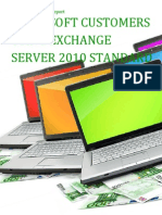 Microsoft Customers using Exchange Server 2010 Standard - Sales Intelligence™ Report