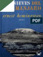 ERNEST HEMINGWAY - LAS NIEVES DEL KILIMANJARO.pdf