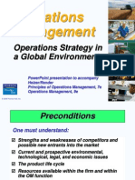 OM Global Operations Strategy HR 2011