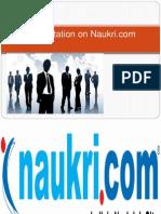 Pesentations on Naukri 12