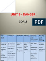 World English 3 - Unit 9 - Danger Unit Goals