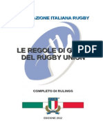Regolamento Di Gioco Rugby  ITA