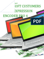 Microsoft Customers using Expression Encoder Pro 4 - Sales Intelligence™ Report