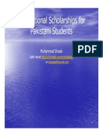 Pk Scholarships Shoaib
