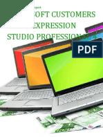 Microsoft Customers using Expression Studio Professional 4 - Sales Intelligence™ Report