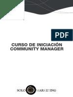 Curso de Iniciacion Comunity Manager