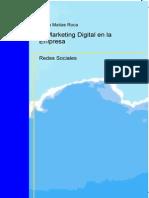El Marketing-Digital en La Empresa - Redes Sociales
