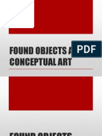 Found Objects and Conceptual Art