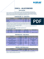 Fisa Tehnica Placi Compozite Din Alumniu-ALUCOBOND