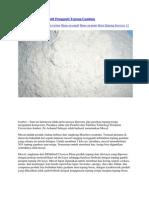 Tepung Mocaf Alternatif Pengganti Tepung Gandum