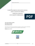 Manual Nuevo Pruebas Psicotecnicas Modelo LND-100 2011