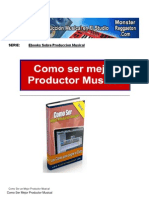Como Ser Mejor Productor Musical eBook