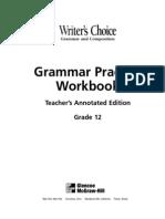 Key Grammar Practice Gr.12