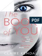 The Book of You, by Claire Kendal - extract