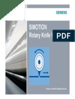 Slides SIMOTION Rotary Knife V2 0