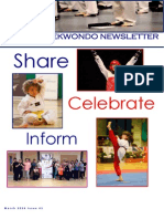 British Taekwondo's First Official Newsletter!