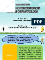Terapi kortikosteroid