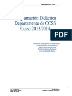1. Programación CCSS 2013 14