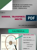 Clase de Osmosis, Transporte Activo de Soluto