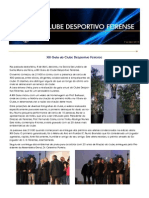 Gala Do Feirense Em Destaque Na Newsletter Desta Semana