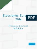 Programa Electoral Melilla