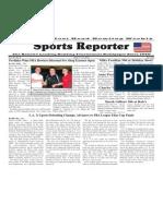 April 9 - 15, 2014 Sports Reporter