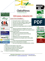 7th April 2014 Global Rice E-Newsletter by Riceplus Magazine