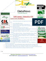 8th April,2014 Global ORYZA E-Newsletter by Riceplus Magazine