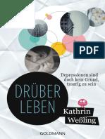 Wessling, Kathrin - Drüberleben - Depressionen sind doch kein Grund traurig zu sein