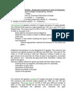 Machine Tool Design - Questions - SEM-6 -PRODUCTION -MUMBAI UNIVERSITY
