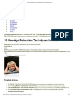 10 New-Age Relaxation Techniques for Kids _ Education