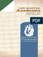 Programa Abril - Junio de 2014