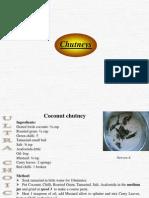 Recipes(Ultra) - Chutneys