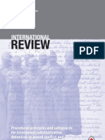 Procedural principles and safeguards for internment/administrative detention in armed conflict and other situations of violence