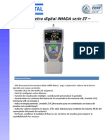 Dinamómetro digital IMADA serie ZT