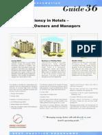 ECG36 - Energy Efficiency in Hotels