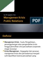 Manajemen Krisis