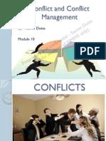 Theme 10- Conflict