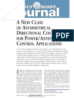 [MWJ0511] a New Class of Asymmetrical Directional Couplers for Power Antenna Control Applications