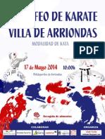 Normativa II Trofeo Villa de Arriondas 2014