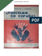 Fascismo en España - Ramiro Ledesma