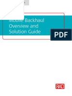 RAD Mobile Backhaul Solution Guide WP 20130715