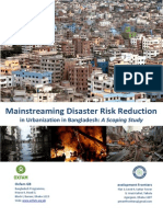 Mainstreaming Disaster Risk Reductionin Urbanization in Bangladesh