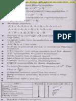 Digital Electronics Formulae